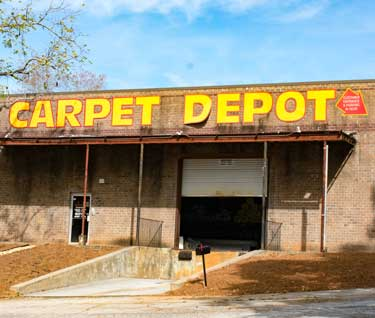 The Outside of Carpet Depot store in Decatur, GA