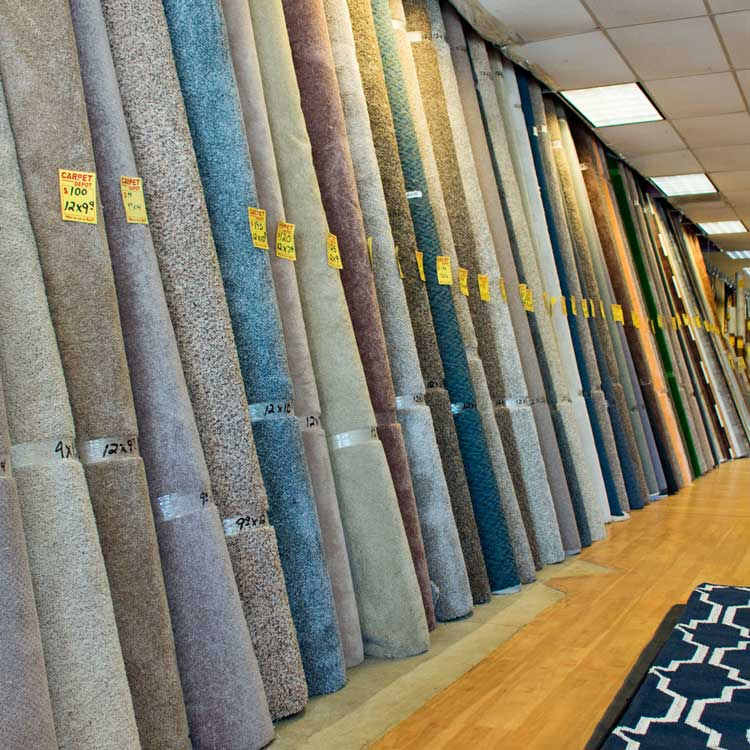 Carpet remnants in Douglasville