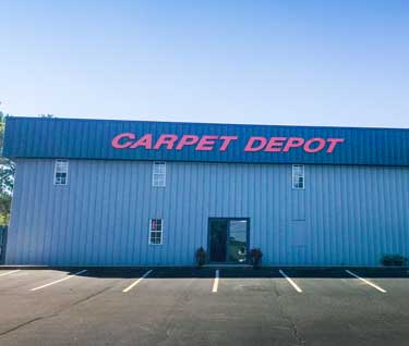 The Outside of Carpet Depot store in Snellville, GA
