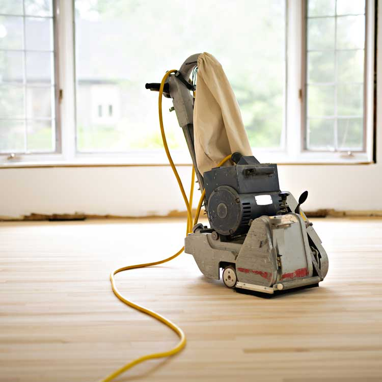 Carpet Depot also offers refinishing services.